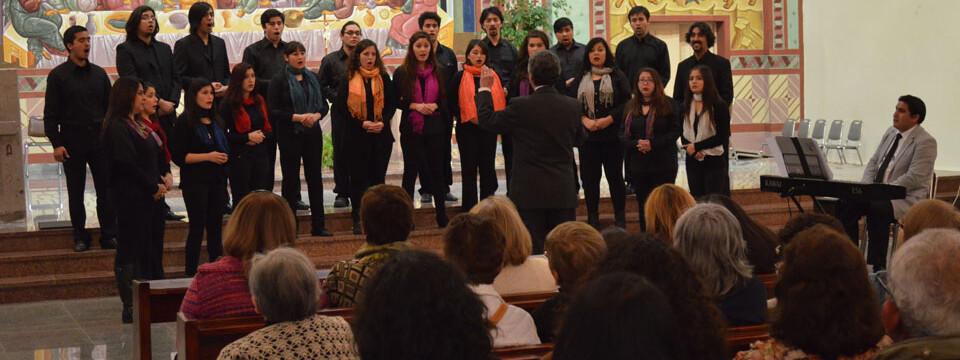 Coro de Cámara UPLA dio concierto en Limache