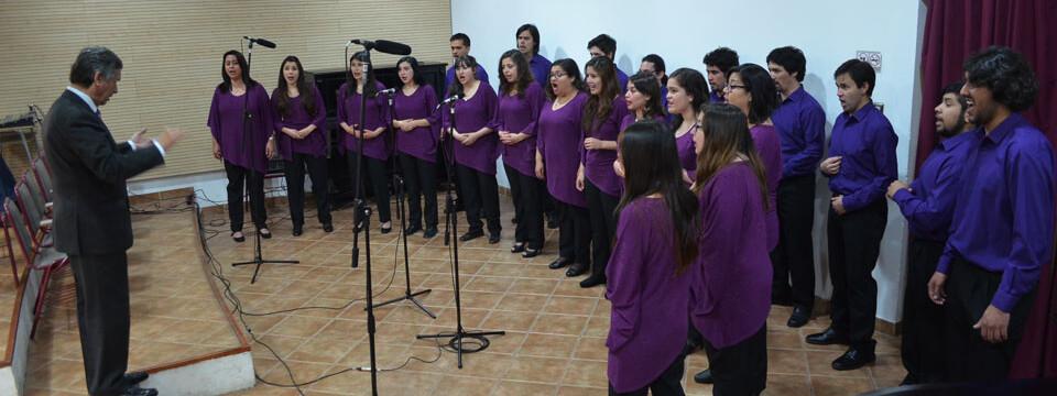 Coro de Cámara UPLA se presentó en Temporada de Conciertos