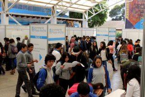 La Universidad espera recibir a alrededor de 1.500 estudiantes de enseñanza media