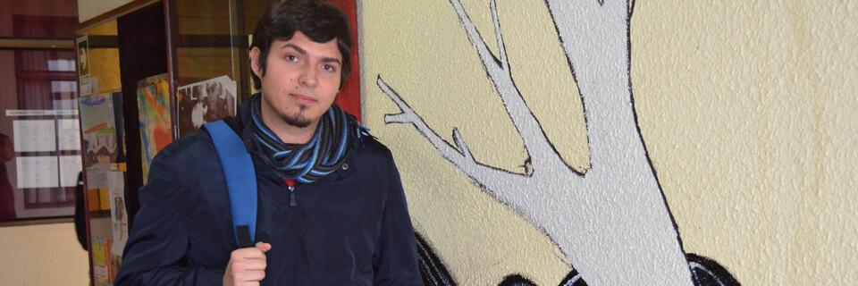 Alumno de Diseño Gráfico cursará semestre en Argentina
