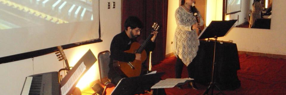 Música de cuerdas y flautas impresionó en Temporada de Conciertos UPLA