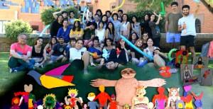 Estudiantes de Artes Plásticas de la UPLA
