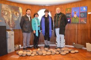 Jurado IX Bienal Regional de Cerámica Artistica de la UPLA