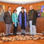 Ítalo Sabadini, Ruth Santander, Ruth Krauskopf y Julio Meyer