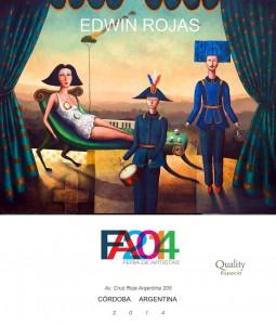"""Obra """"Domus Pecatum"""", Feria Artistica 2014"""