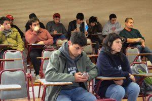 Estudiantes de Diseño Gráfico