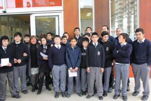 Estudiantes Escuela Almirante Juan José Latorre