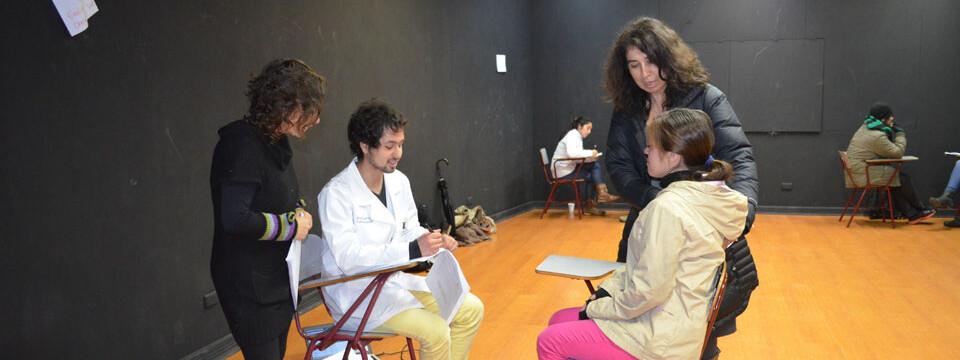 Realizan evaluación vocal a estudiantes de Música de la UPLA