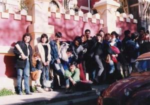 Facultad de Arte Cerro Alegre, años '90