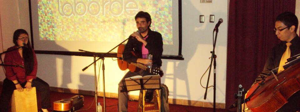Cantautor Porteño Felipe Laborde dio el vamos a la XXVI Temporada de Conciertos en la UPLA