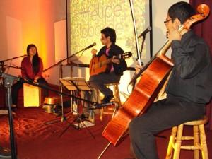 Felipe Laborde en concierto