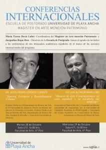 Flyer Conferencistas españoles