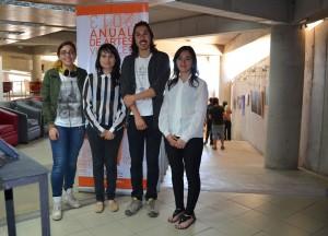 Renata Cáceres, Paz Huenul, Fabio Puentes y Denisse Veloso