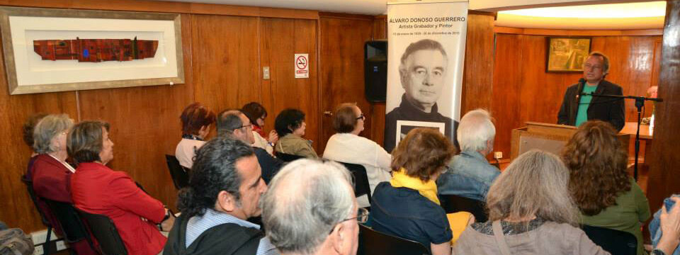 Emotiva ceremonia en recuerdo del artista Álvaro Donoso en Viña del Mar