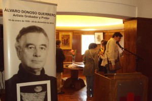 Homenaje Álvaro Donoso Guerrero