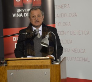 Hugo Vergara, decano (S) Facultad de Arte UPLA