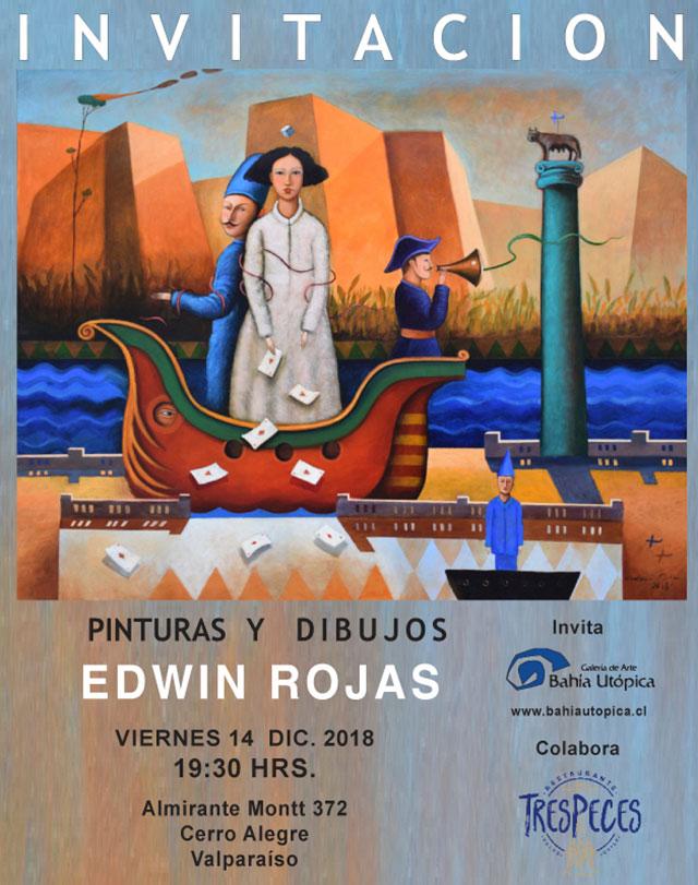 Invitación Edwin Rojas