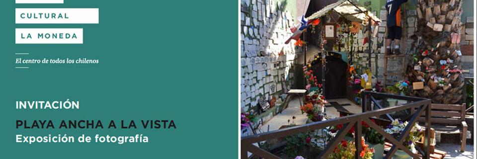 Exposición de fotografías de Playa Ancha se inaugura en Centro Cultural La Moneda
