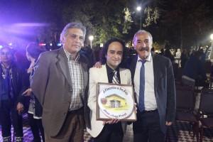 José Godoy recibe reconocimiento