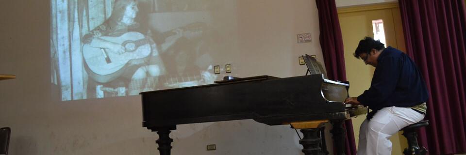 Pianista José Riveros inauguró Temporada de Conciertos en la UPLA