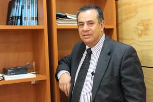 Juan Carlos Díaz, director Depto Arte y Diseño UPLA