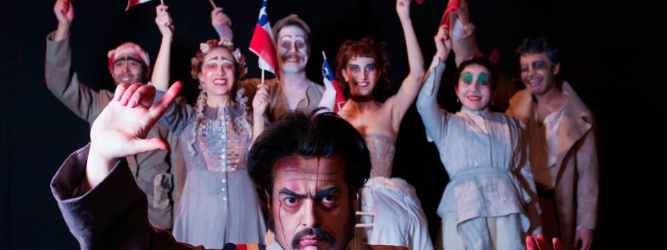Montaje teatral La Sangre de Xile se presentará en Sala UPLA