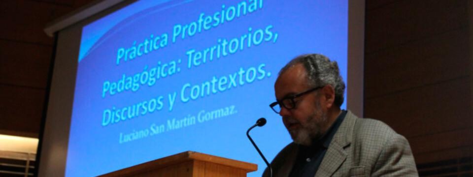 Académico UPLA aconseja a jóvenes que inician prácticas pedagógicas