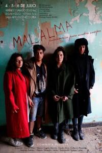 """""""Malalma: Parasomnia para cuatro cuerpos"""""""