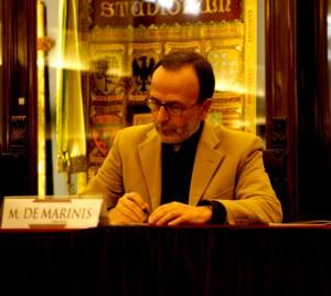 Investigador teatral italiano Marco de Marinis