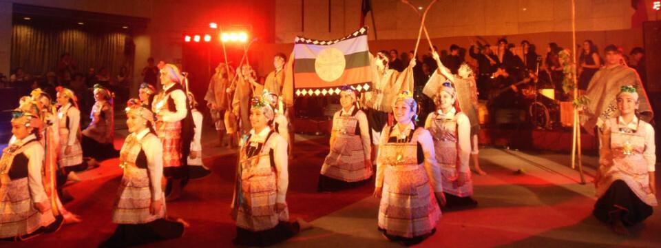 Ballet Folclórico May May Licán se presentó en el Congreso Nacional
