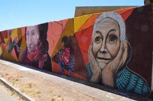 """Mural """"Geometría Social"""""""