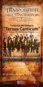 """Afiche """"Tersus Canticum"""""""