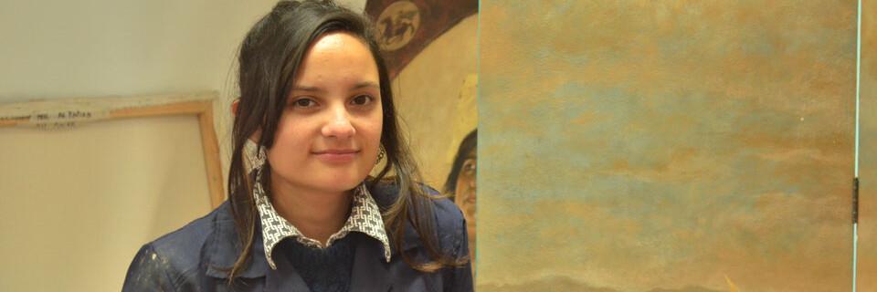 Estudiante UPLA obtiene primer lugar en concurso de artes visuales Camilo Mori