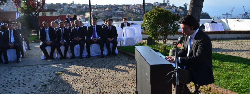 Pianista Nicolás Galaz se presentó en Museo Lord Cochrane de Valparaíso