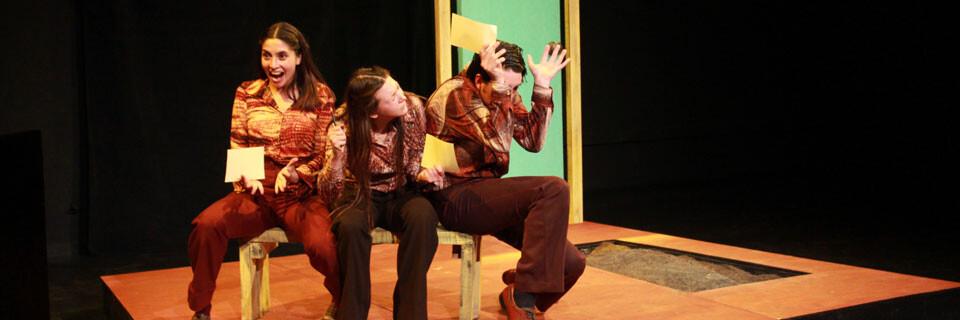 Nuevos talentos teatrales se presentan en Sala UPLA