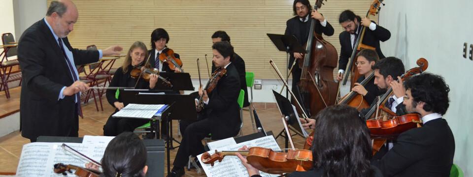 Orquesta Marga Marga se presentó en Temporada de Conciertos UPLA