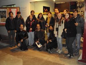 Alumnos de sonido U de Chile
