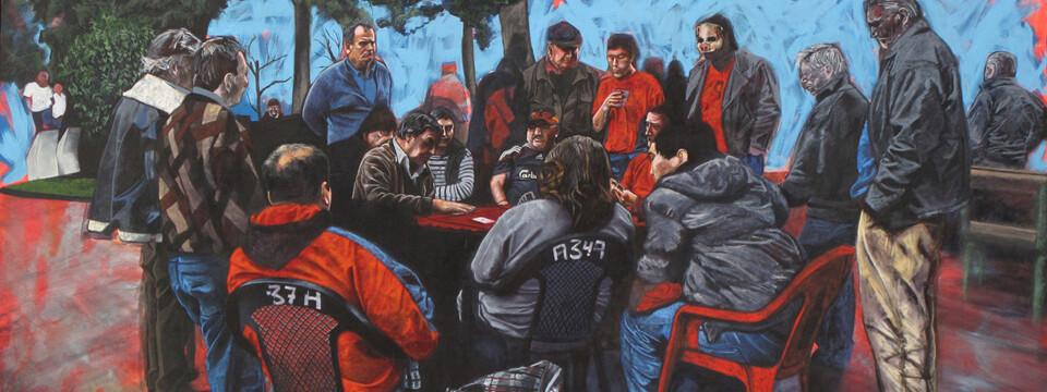 Artistas UPLA inauguran exposición colectiva en La Sebastiana