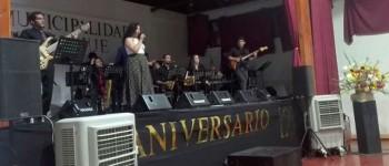Big Band UPLA se presentó en aniversario de la comuna de Panquehue