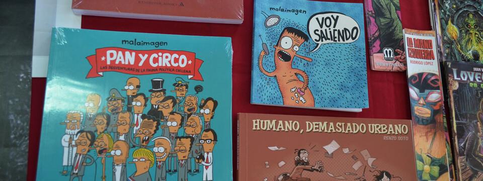 Feria itinerante de cómics se presentó en la UPLA