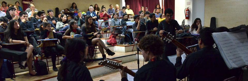 II Encuentro de Música Latinoamericana se realizó en la UPLA