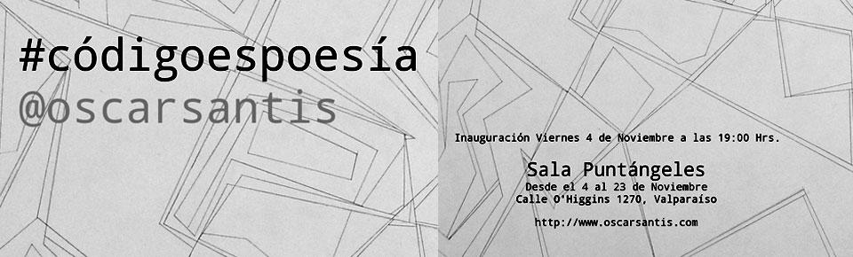 Artista Oscar Santis inaugurará exposición en Sala Puntángeles de Valparaíso