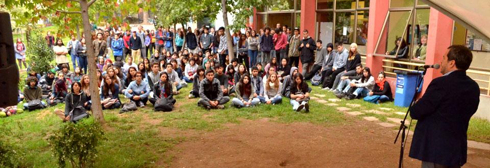 Facultad de Arte UPLA recibió a más de 250 estudiantes de primer año