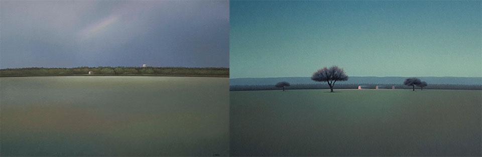 José Basso expone pinturas en galería estadounidense