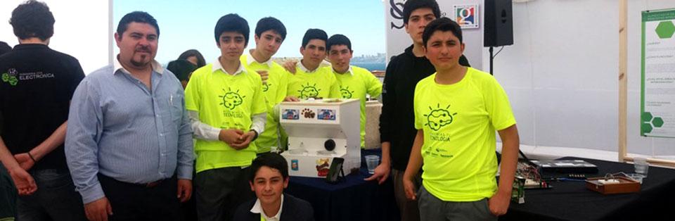 Académico de Educación Tecnológica lideró proyecto de robótica escolar