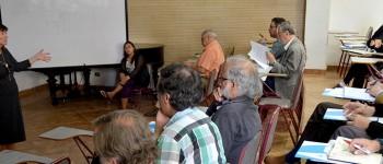Especialista Viviana Parra realizó taller de evaluación auténtica en la Facultad de Arte