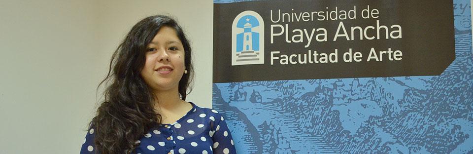 Estudiante de Música viaja de intercambio a universidad de Brasil
