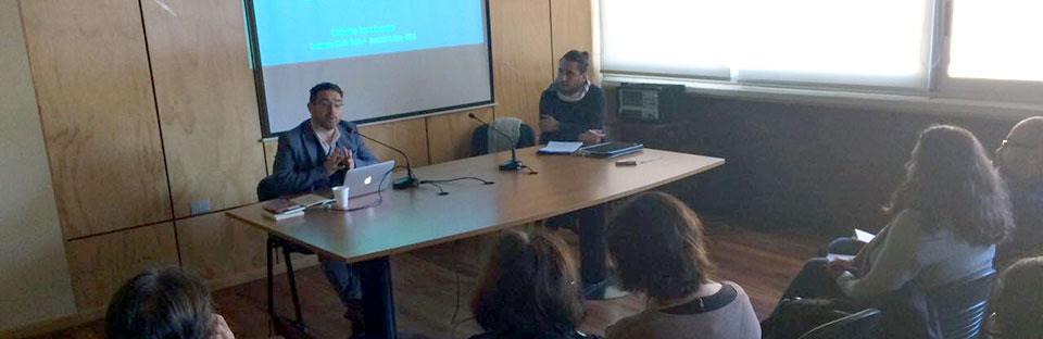Académico Alejandro Arros dictó conferencia en la Facultad de Ciencias Sociales