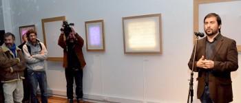 Artista Álvaro Miranda inauguró exposición en Sala El Farol de Valparaíso