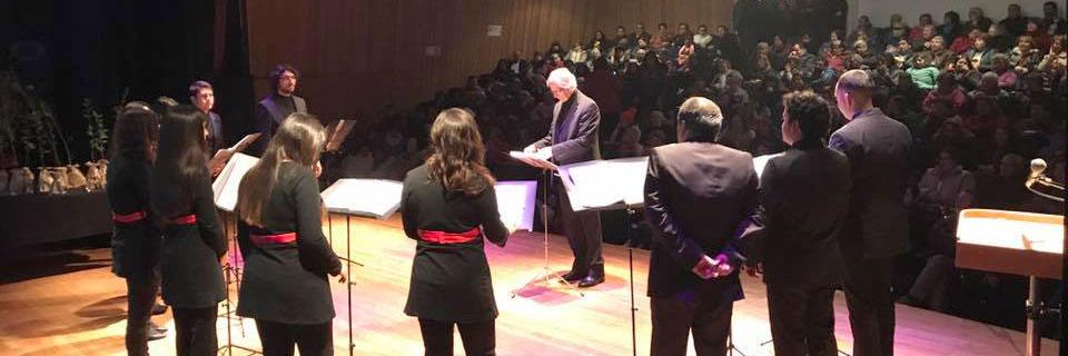 Concierto homenaje a Violeta Parra presentó Conjunto de Madrigalistas en Quinta Normal